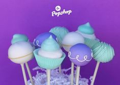 Eve Gravel Cake pops