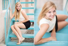 Urban senior session - outfit is amazing.  Posing is amazing!  Makeup is amazing!