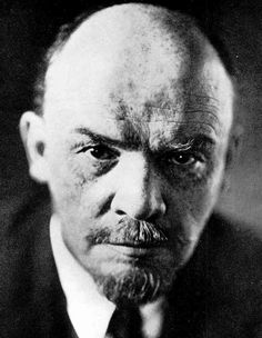 Lenin - the initial face of the evil that would cloak Russia in the darkness of Communism for 75 years. Collectivism, (communism, socialism), is the most evil political system, to have ever been conceived by man.