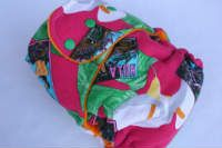 Pink Hula *Visionary*, T, Orange CV, Knit by 4ward Thinking Cloth Diapers