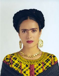 Salma Hayek as Frida Kahlo in Frida - 2002