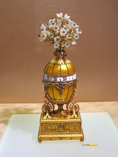 Imperial Faberge Lily Madonna Egg
