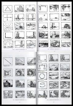 Edgar Payne's composition thumbnails