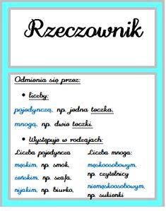 Plansze część 2 Polish Language, Fun Learning, Hand Lettering, Back To School, Literature, Homeschool, Study, Math Equations, How To Plan