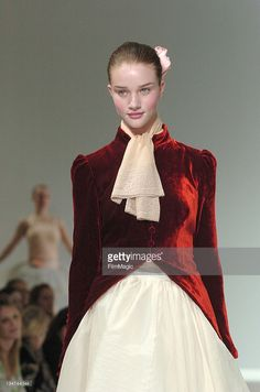 Rosie Huntington-Whitely wearing Ronit Zilkha Autumn/Winter 2006 during London Fashion Week Autumn/Winter 2006 - Ronit Zilkha - Runway at Royal Academy Of Arts in London, Great Britain.