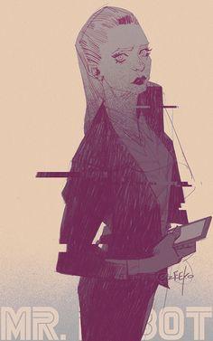 #Mr.Robot# by zeekolee on DeviantArt