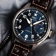 "IWC Big Pilot's Watch Edition ""Le Petit Prince"". Ref. IW500916 #IWCPilot #IWCBlueDial #IWCWatches"