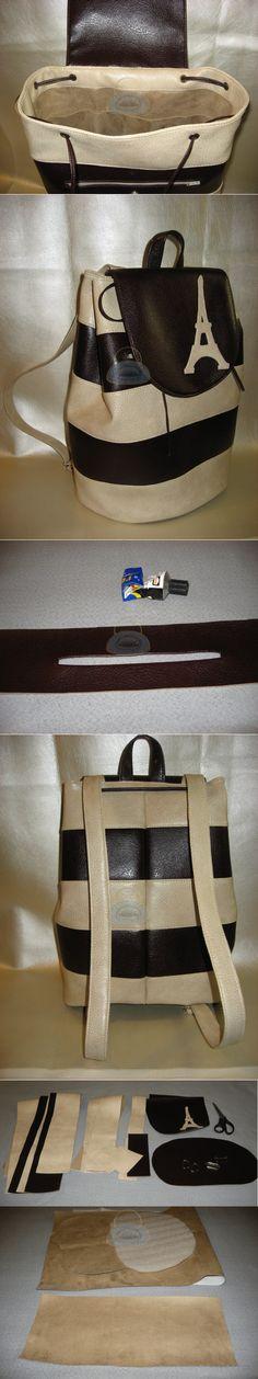 Как сшить рюкзак своими руками из полосокШьем сумки Легко и Просто!   Шьем сумки своими руками.