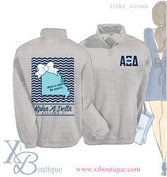 #xiboutique custom Alpha Xi Delta shirt. Email custom@xiboutique.com to order!