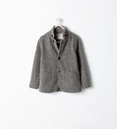 KNIT BLAZER WITH ELBOW PATCHES