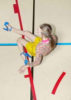 Carven by Viviane Sassen.