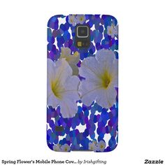 Spring Flower's Mobile Phone Covers Galaxy S5 Cases