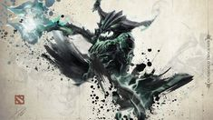 ArtGerm Outworld Devourer Wallpaper, more: http://dota2walls.com/outworld-devourer/artgerm-outworld-devourer-wallpaper