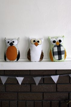 Happy Hooter Sewing Pattern (PDF)