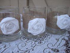 ideas diy wedding decorations burlap candles for 2019 Diy Wedding Dress, Wedding Table, Fall Wedding, Rustic Wedding, Our Wedding, Wedding Ideas, Party Wedding, Wedding Bells, Wedding Stuff