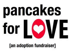 Pancake breakfast #adoption #fundraiser