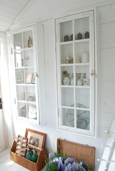 Glass Shelves At Home Depot Cupboard Shelves, Glass Shelves, Wood Wall Design, Creative Kids Rooms, Diy Cabinets, Glass Cabinets, Cupboards, Beautiful Interior Design, Old Windows