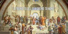 A friend to all is a friend to none. - Aristotle at Lifehack QuotesMore great quotes at http://quotes.lifehack.org/by-author/aristotle/