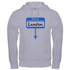 Pregnant: Landon  Family Hooded Sweatshirt by CafePress