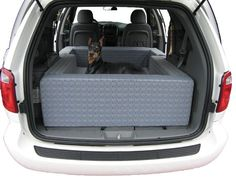 TRAVELING: *** Need this! Big Dogs Beds Automobile Den, Auto Dog Bed, Car Dog Beds
