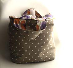 Borsa/Contenitore di cotone per la casa Aequorea di AequoreaShop su DaWanda.com