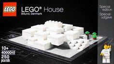 LEGO Architecture : Bjarke Ingels Group (BIG) LEGO House museum in Billund, Denmark