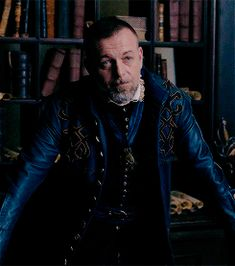 Minister Treville smiling | BBC Musketeers | Season 3
