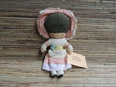 Vintage Joan Walsh Anglund Fabric Pocket Doll 1975 by RedoneAndVintage on Etsy