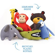 Home :: Shop Dogs :: Toys :: Eco Friendly :: Beco Family Soft Toys for Dogs