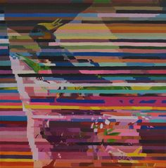 Eric Dyer - Missing me one place search another, I stop somewhere waiting for you acrylic on canvas Eric Dyer, San Francisco California, How To Look Better, Original Art, Artsy, Canvas, Painting, Glitch, Labs