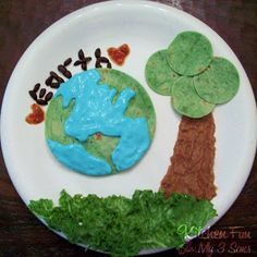 Kitchen Fun With My 3 Sons: Earth Day PB Lunch