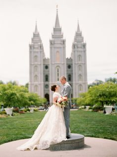 Salt Lake City Temple Wedding | photography by http://jacquelynnphoto.com/