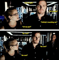 #Olicity <3 *be cool*