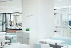 Beautiful Cojean design for one of their restaurants.