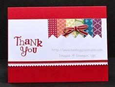 Thank You Banners - BeeBug Creations