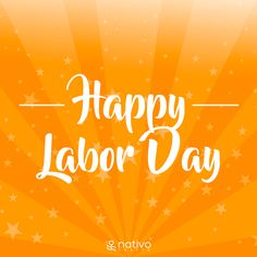 We hope everyone is enjoying #LaborDay, a date to celebrate determination, innovation, and hard work everywhere!