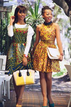 love the African print