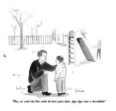 Conselho de pai para filho.