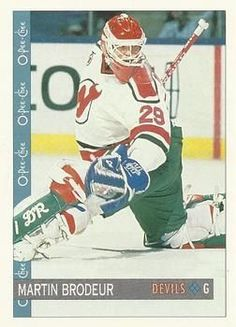 Martin Brodeur, New Jersey Devils, Baseball Cards, Sports, Sport