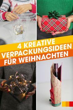 Verpackungstipps für Weihnachten - LIBRO Home Advent, Wine Bottle Gift, Christmas, Christmas Tree, Christmas Time, Creative, Dekoration, Crafting