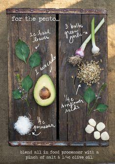 Recipe: Creamy Green Garlic & Avocado Pesto with Gnocchi