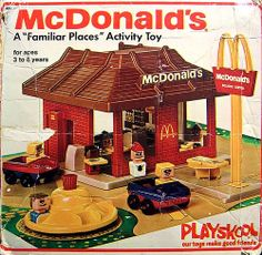 McDonald's by Playskool toy box