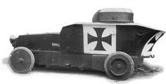 The rare and very distinctive Austro-Hungarian Romfell armored car was one of the most visually striking and innovative models to fight in World War I. Austro Hungarian, Armored Vehicles, Armored Car, Skin So Soft, World War I, Troops, Wwii, Cool Photos, Postwar