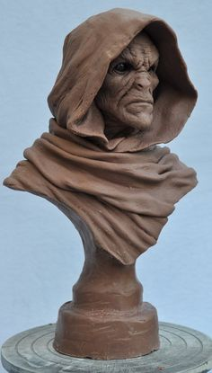 Ancient Cursed Majestic bust 1 Monster Clay by AntWatkins on deviantART