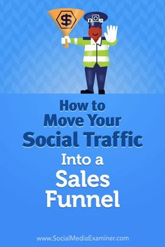 Want more conversions from your organic social media traffic?  Wondering how to set up a sales funnel for your social media visitors?  In this article, you�ll learn how to convert more social media visitors using a sales funnel.  #SocialMedia #SocialMedia
