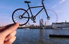 FREEWHEELING: The term ¿upcycling¿ is taken to a new level with this miniature bike used t...
