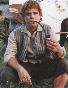 I loved what Peter Jackson and Sean Astin did with Sam. They took a slightly annoying character and turned him into a strong, loveable character. :)