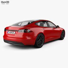 Tesla Model S Plaid 2021 3d model Car 3d Model, Stl File Format, Car Engine, Choices, Plaid, Models, Cars, Gingham, Templates