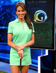 Holly Sonders makes it to #1 on Golficity's list of the Top 10 Hottest Women in #Golf for 2013.