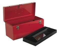 AP533 - SEALEY, 510MM, TOOLBOX, WITH TOTE TRAY. http://www.teng.co.uk/tools/tool-boxes-storage.html
